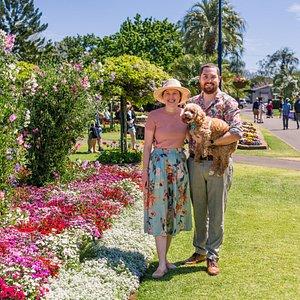 Laurel Bank Park During Carnival of Flowers