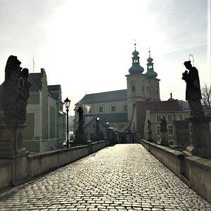 Kościół Matki Bożej Różańcowej février 2020.