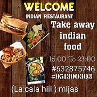 Due to health emergency declared by COVID_19 and following the recommendations of the authorities,we inform our clients that # the welcome indian restaurant will continue offering its take away services every day from 15:00 to 23:00 call us at ☎951390303📱632875746