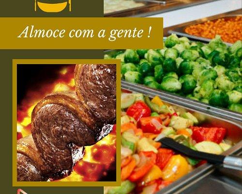 Playtime - Tempero Brasileiro Almoço Self-Service de terça a domingo, a partir das 11:30H
