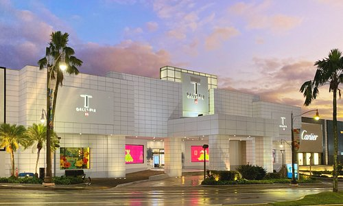 T Galleria by DFS, Guam at sunset. Guam's Ultimate Shopping Experience.