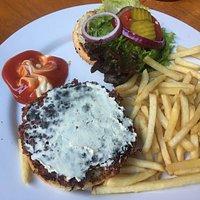 Veggie Burger with Vegan Cheese