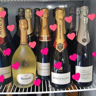 Champagnes frais