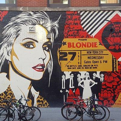 Debbie street art in the Bowery