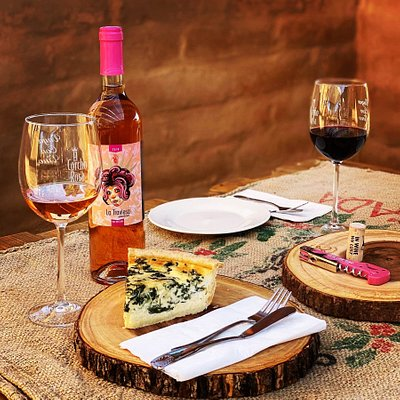 At our new onsite eatery El Bocadillo, the menu is always changing and we have a wine for every dish!