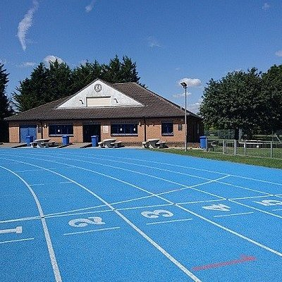 Clubhouse and Track