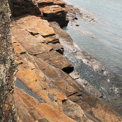 Cham Keng Chau - ruggest coastline