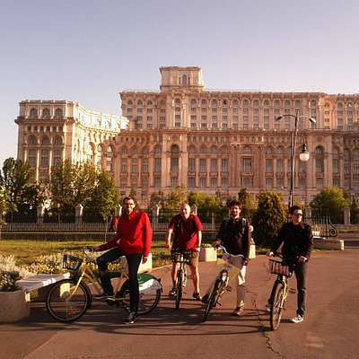 Parliament Palace, 2nd largest building in the world (surface area)