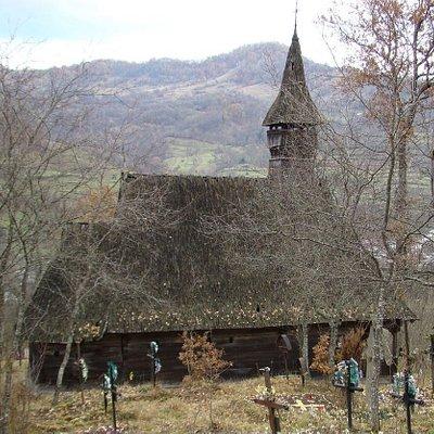 Biserica Cuvioasa Paraschiva, Valea Stejarului (Wooden church from Valea Stejarului)