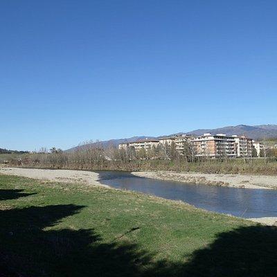 The river Arno, Close to Centro Storico, San Giovanni Valdarno