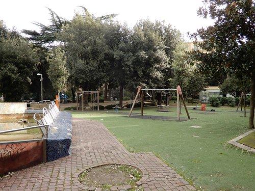 L'area giochi per i bambini