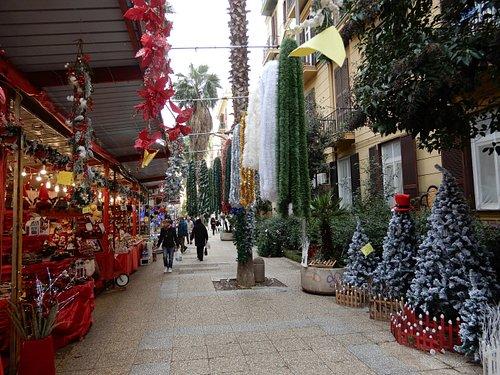 Il mercatino a Natale