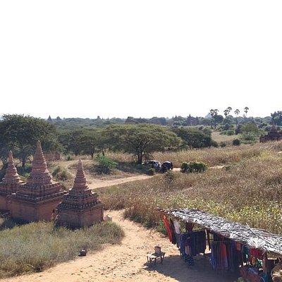 Den Irrawaddy schon im Blick