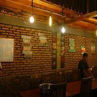 Bintang Cafe & Restaurant - inside the restaurant