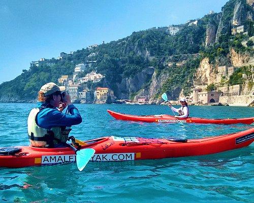 Conca dei Marini - Amalfi Kayak Tours