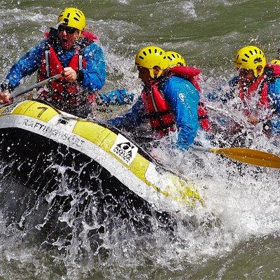 Rafting por la Noguera Pallaresa