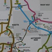 local map...