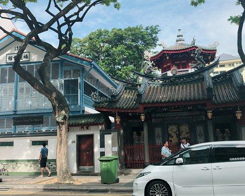 シンガポールオルゴール博物館の外観です。