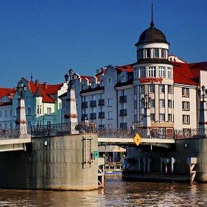 туристический центр Калининграда - Рыбная деревня.