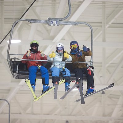 Start your journey on snow at Big SNOW American Dream.