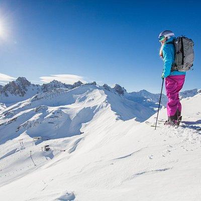 Skifahren Axamer Lizum Tirol