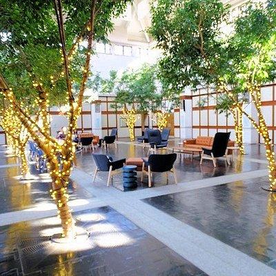 lobby of museum