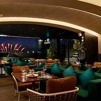 Restaurant + Daily Fireworks Display