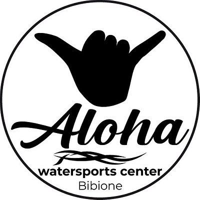 Il logo dell' Aloha watersports center