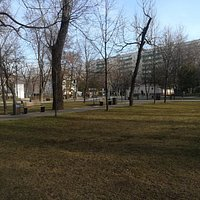 Детский парк им. Н.Н. Прямикова, ул. Таганская, 15А, март.