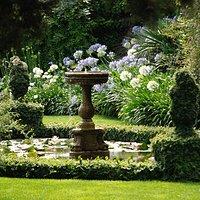 Una fontana all'interno dei Giardini