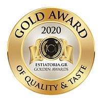 Another golden award of quality and taste
