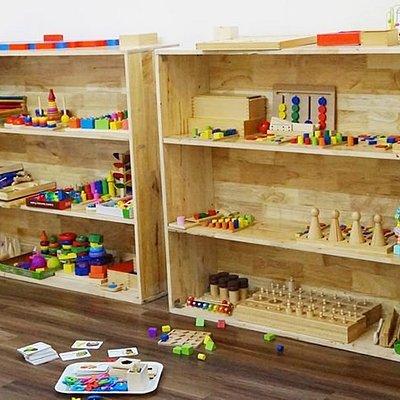 Ở đây có phòng Montessori