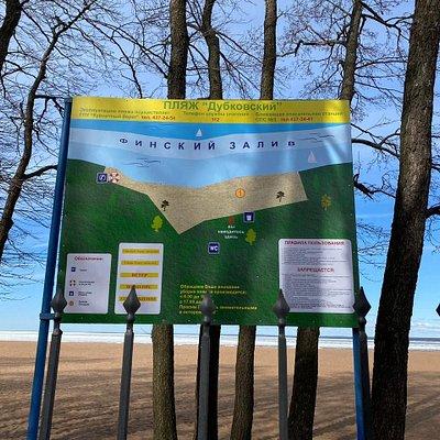 Дубковский пляж, Сестрорецк, март.