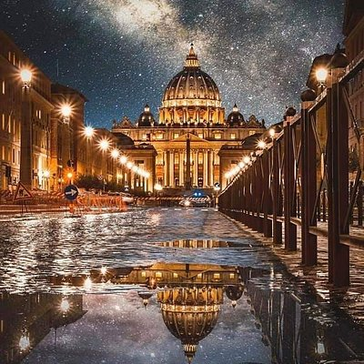 Empty Rome we have never seen it before. Pray for Italy i love you Italy