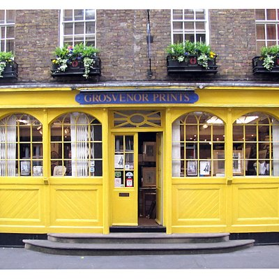Grosvenor Prints, located in Seven Dials, Covent Garden, is one of the last remaining London Antique print shops dealing in original 18th -19th century vintage prints.  Please visit our website: www.grosvenorprints.