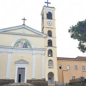 Facciata del Convento dei Padri Passionisti di Santa Maria di Pugliano - Paliano