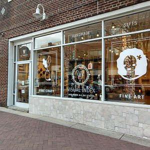 Visual Index is located in the vibrant downtown arts district in Winston-Salem, North Carolina.
