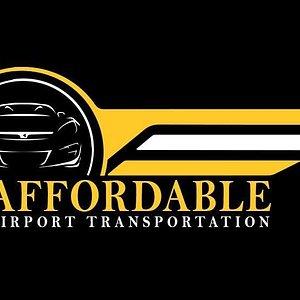 Affordable Airport Transportation Logo
