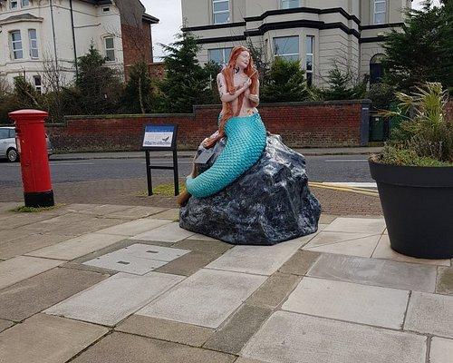 Black Rock Mermaid on Atherton Street