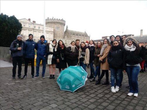 Paseando por Europa - Free Tour Imprescindible ¡No te puedes perder el castillo de Dublín o el Trinity College!