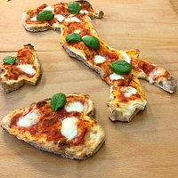 Pizza a Forma d'Italia