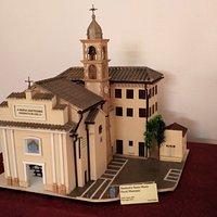 Plastico - Santuario  S. Maria fuori Monsano- realizzato da Pieino  Topa