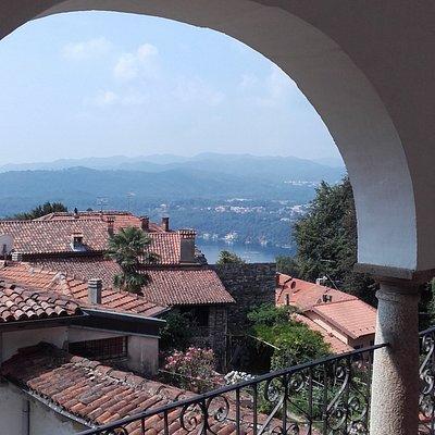 Panorama dalla fondazione