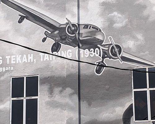 Mural of Amelia Earhart