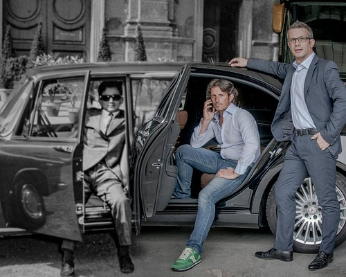 Esclusive transportation is a family tradition at Italy's Euronoleggi, Carlo founded it in 1963