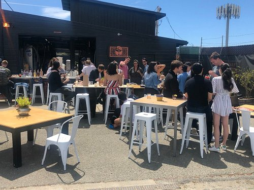 Outdoor tasting experience offers one of the best outdoor spaces in San Francisco.