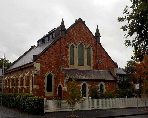 Western face of church