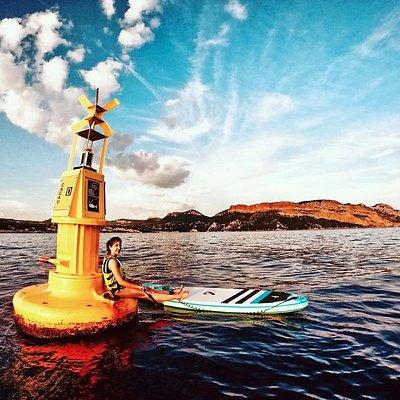Sunset Paddle Cassis