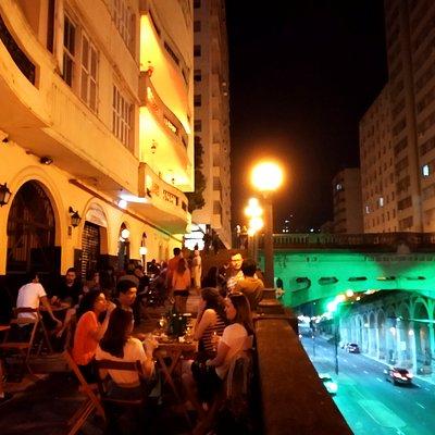 Passeio Outono do Viaduto Otávio Rocha - Centro Histórico - Porto Alegre / RS - Brasil