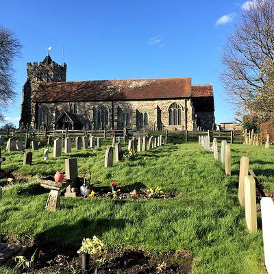 26.  The Parish Church of St George, Brede, East Sussex
